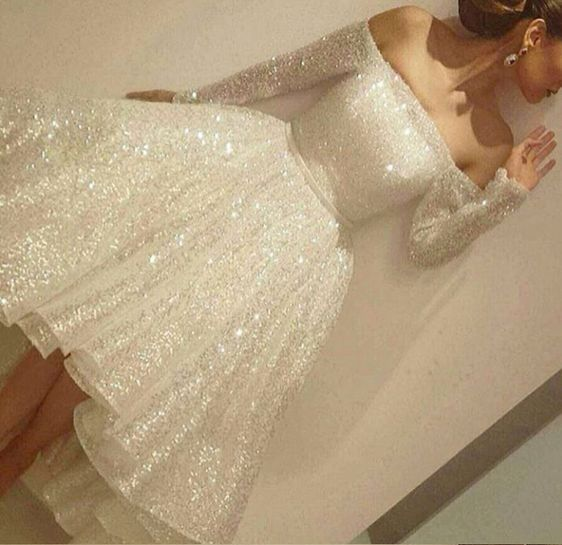 Charming Short Prom Dress, Sparkly Homecoming Dresses, Homecoming