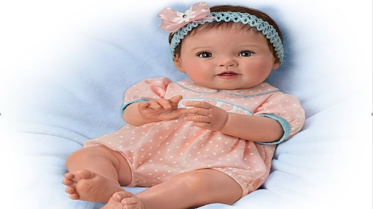 """Littlest Sweetheart"" Lifelike Poseable Baby Doll"