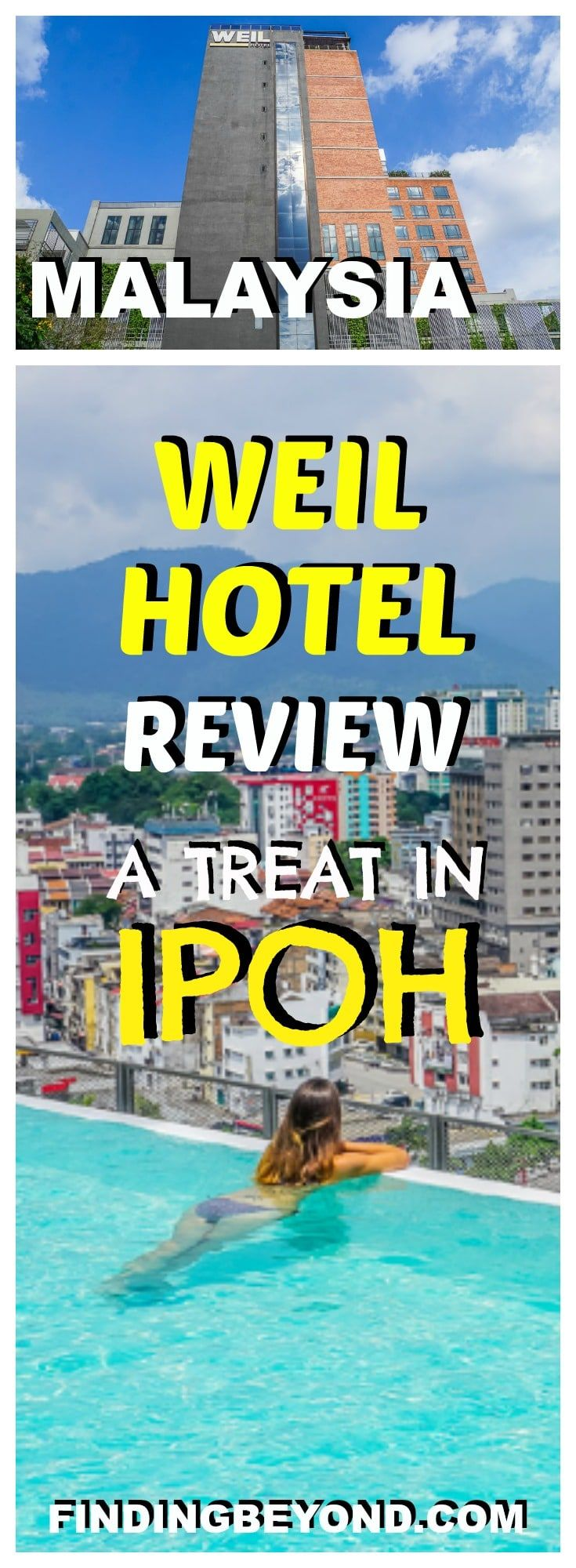 Check out our review of the awesome Weil Hotel in Ipoh. Old Ipoh is considered the new George Town, so now's the time to visit before the crowds arrive!