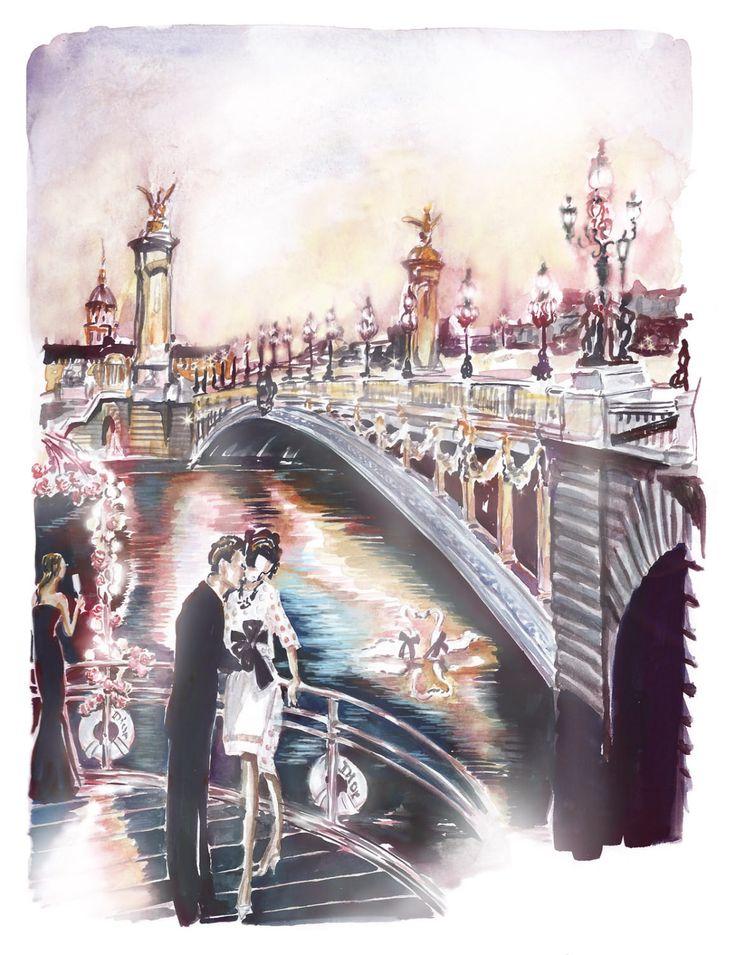 Garance Wilkens - Paris by night