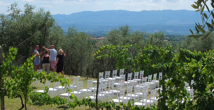 Wedding Day in Pian di Sco : Ceremony + Party #villarental