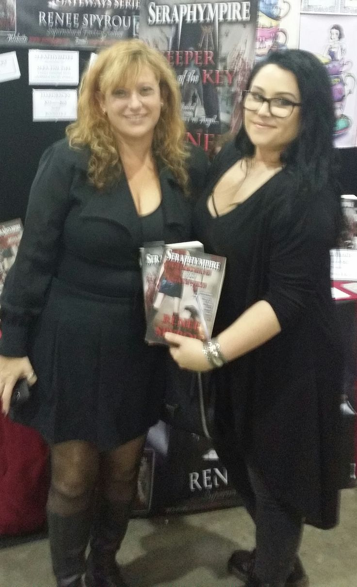 A Photo with Bethany Another lovely lady who purchased copies of my books at #Ozcomiccon 2016 #Brisbane #Australia with #ReneeSpyrou #BookSigning #Seraphympire