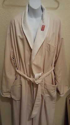 Elizabeth Arden Red Door Spa Signature Spa Robe Natural W/ Spa Belt One Size
