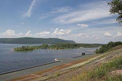 Волга у Жигулевских ворот