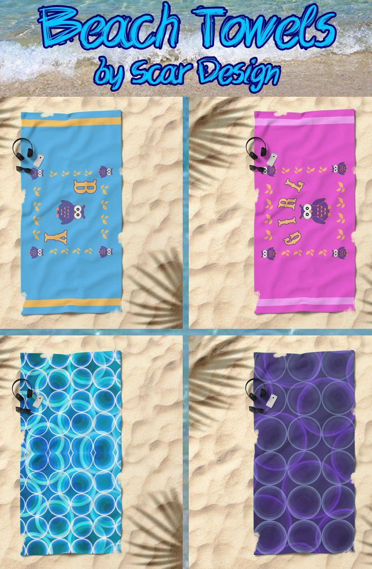 Beach Towels by Scar Design.  #beachtowels #summer #beach #babybeachtowel #babygifts #giftsforhim #giftsforher #summergifts #summer2017 #kidsbeachtowels