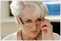 25 juli 2011: Ziel voor de duivel. Foto: Meryl Streep als Miranda Priestley in The devil wears Prada