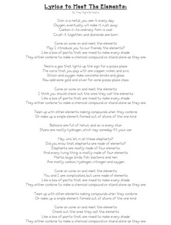 49 best mr parr science songs images on pinterest teaching cool science songs with lyrics to print urtaz Choice Image