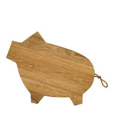Pig Cutting Board by Sagaform