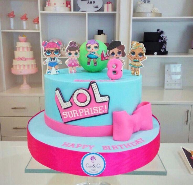 Lol Surprise Dolls Birthday Cake Doll Birthday Cake