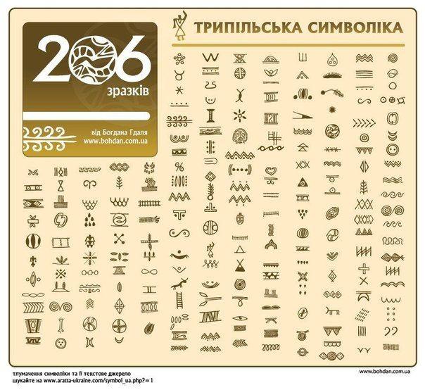 Cucuteni-Trypillian culture, symbols