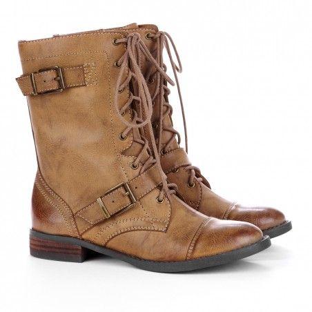Nessie Combat Boots
