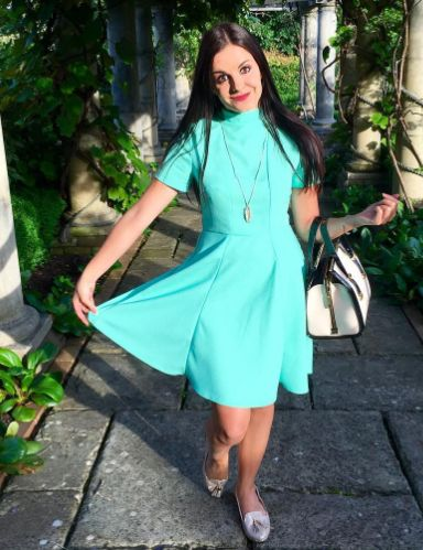 Jade's Martha dress - sewing pattern by Tilly and the Buttons