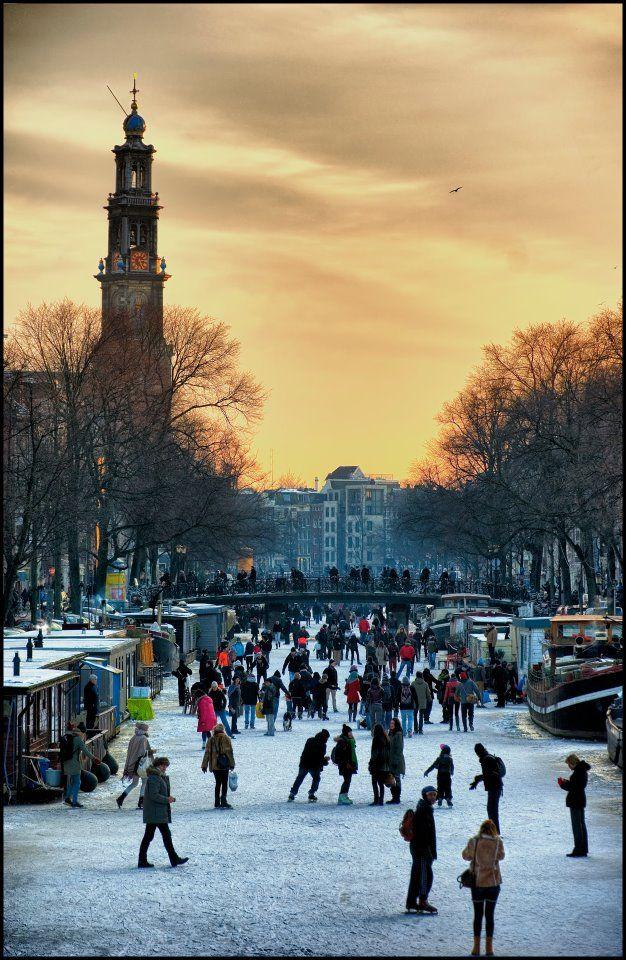 Skating in Amsterdam  Pano Alberti's Photos
