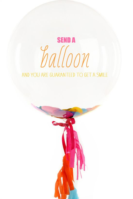 Send Someone A Smile With A Bonjour Balloon