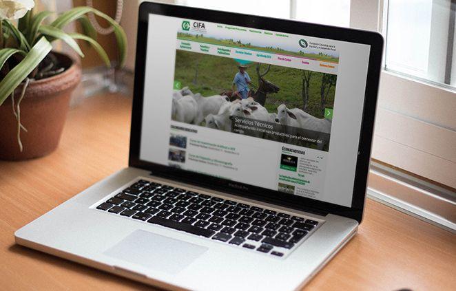Sitio Web CIFA (Fundación Educativa para la Equidad y el Desarrollo Rural)