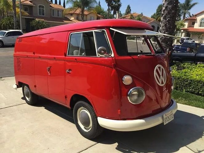 VivaRedd — 1964 VW Transporter Panel Van For Sale ...