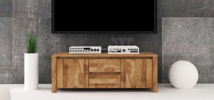 Interior Design Meuble Tv Contemporain Meuble Tv Bois Massif Contemporain Vinci Rangement Boite En Carton Chaise Flat Screen Electronic Products Flatscreen Tv
