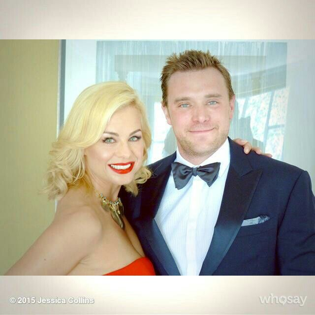 Jessica Collins & Billy Miller