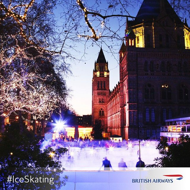 As winter approaches, #London gets its skates on. Who would you like to take to the rink?