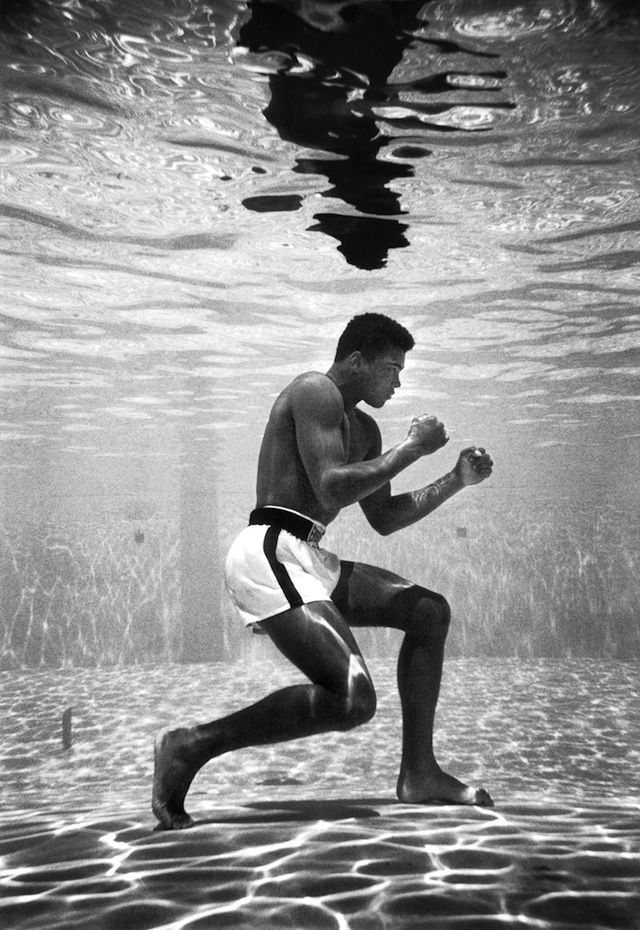 "Muhammad Ali, 1961.  ""It's the repetition of affirmations that leads to belief. And once that belief becomes a deep conviction, things begin to happen."""