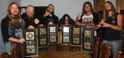 CIVIL WAR - The Killer Angels Album Certified Gold In Sweden - Bravewords.com