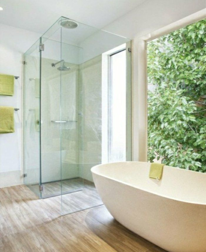 Ebenerdige Dusche Mit Glastür