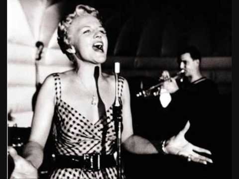 Peggy Lee - Black Coffee. I just LOVE this song!