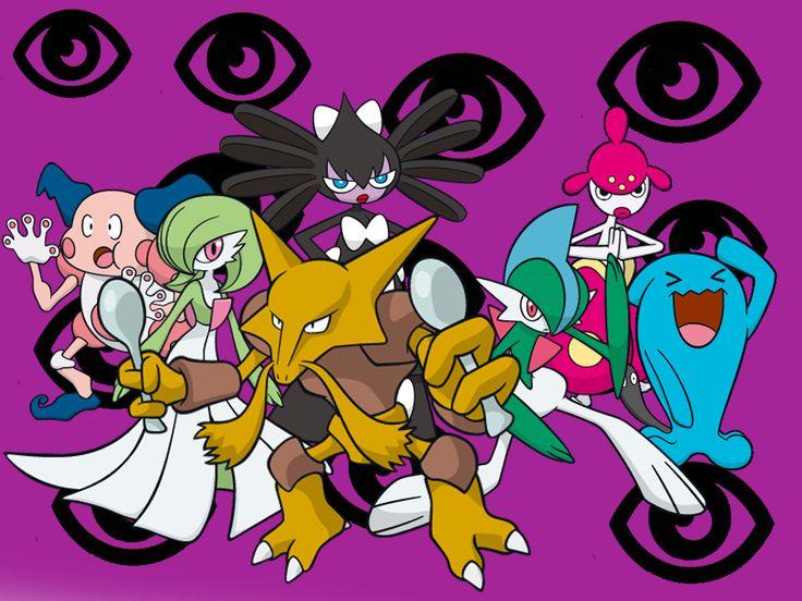 Psychic Type Pokemon | Psychic Type Wallpaper by Reshiramaster
