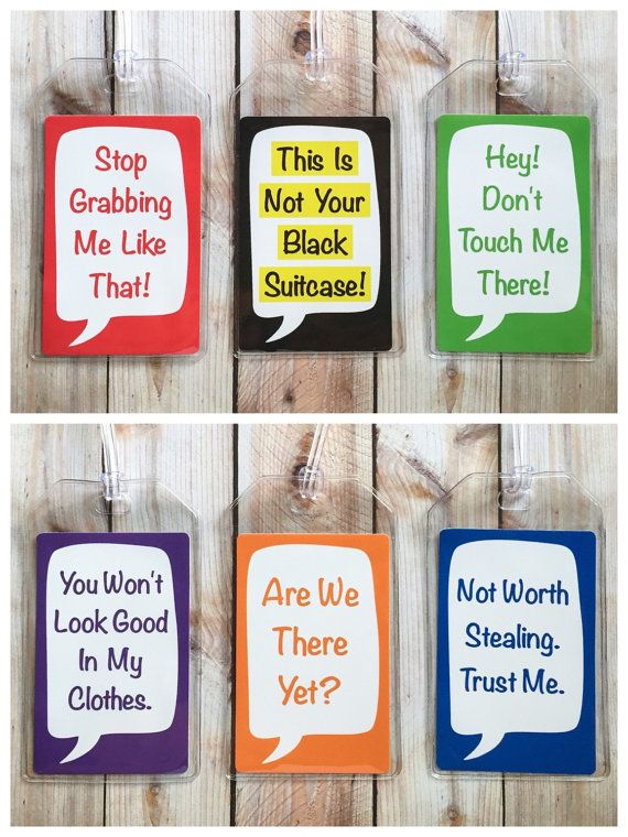 2.75 x 4.125 Vinyl Luggage Tag with 6 Loop  A great way to distinguish your luggage or just add some style, all while including your contact
