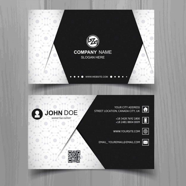 modern-business-card-in-black-and-white-colors_1035-3620.jpg (626×626)