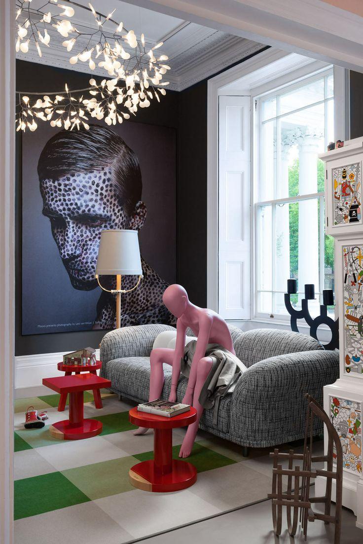 Modern furniture showroom design - Thank You Moooi London Showroom Levi Van Veluw Always Defying The Ordinary