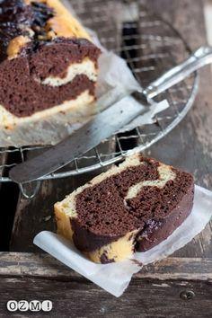 Marbré au chocolat à la ricotta sans beurre