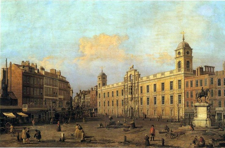 Canaletto - Northumberland House , 1752
