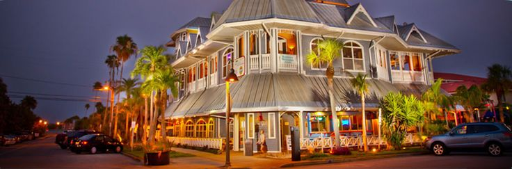 Historic Hurricane Seafood Restaurant in Pass-A-Grille, St Pete Beach