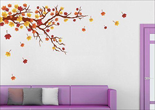 Buy Autumn Season Wall Sticker | Wall Art - SRG India   #homedecor #home #design #art #wallart