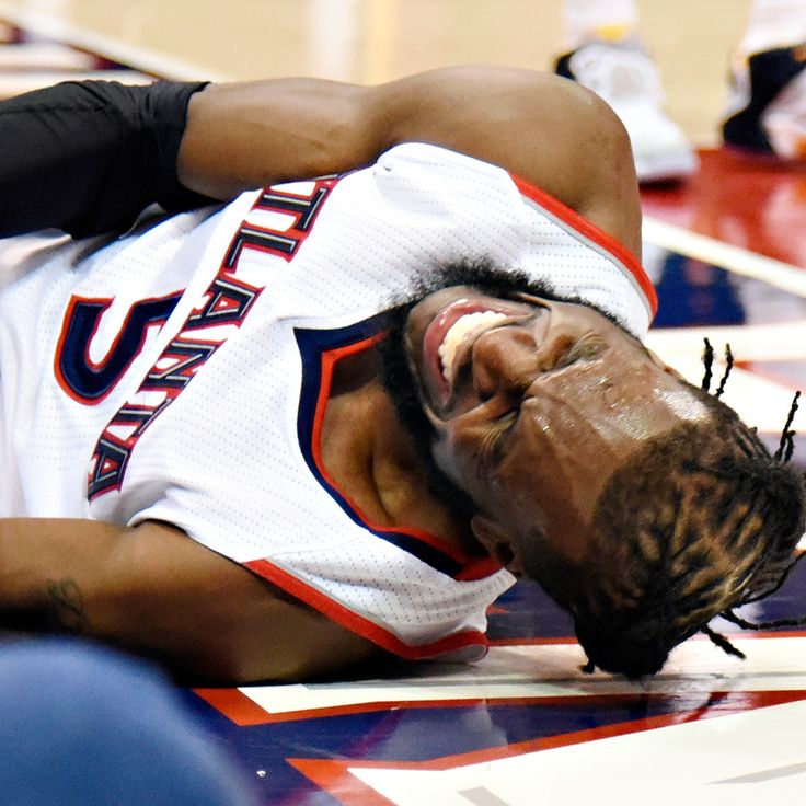 No structural damage to DeMarre Carroll's knee; Game 2 uncertain