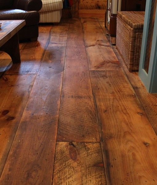 Wide Pine Floors