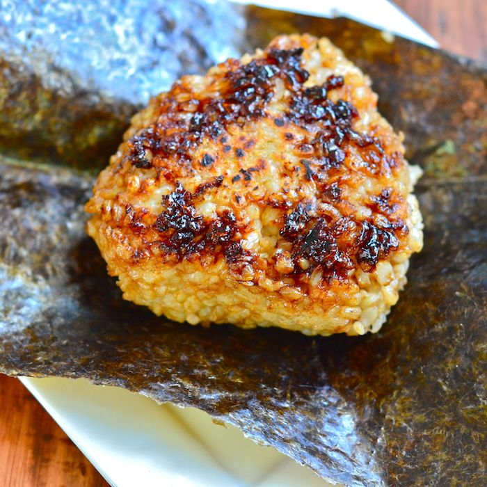 This recipe for Smoked Salmon Yaki Onigiri features smoked salmon and brown rice cooked to perfection.