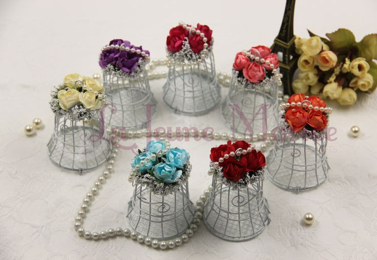 Vintage Garden Bird Cage Available in 7 lovely colors. Pick your favorite and order now!