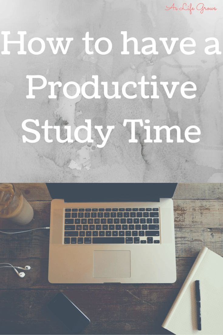 Click to read a few simple tips on how to have a more productive study time.