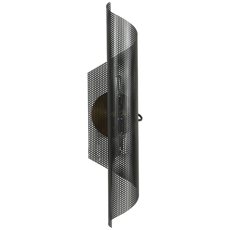 ($525 for white or black) Rolled Perforated Sconce by Lawson-Fenning | 1stdibs.com