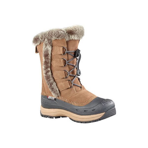 Women's Baffin Chloe Snow Boot - Taupe Casual (€145) ❤ liked on Polyvore featuring shoes, boots, casual, waterproof boots, baffin boots, water proof snow boots, snow boots, leather snow boots and real leather boots
