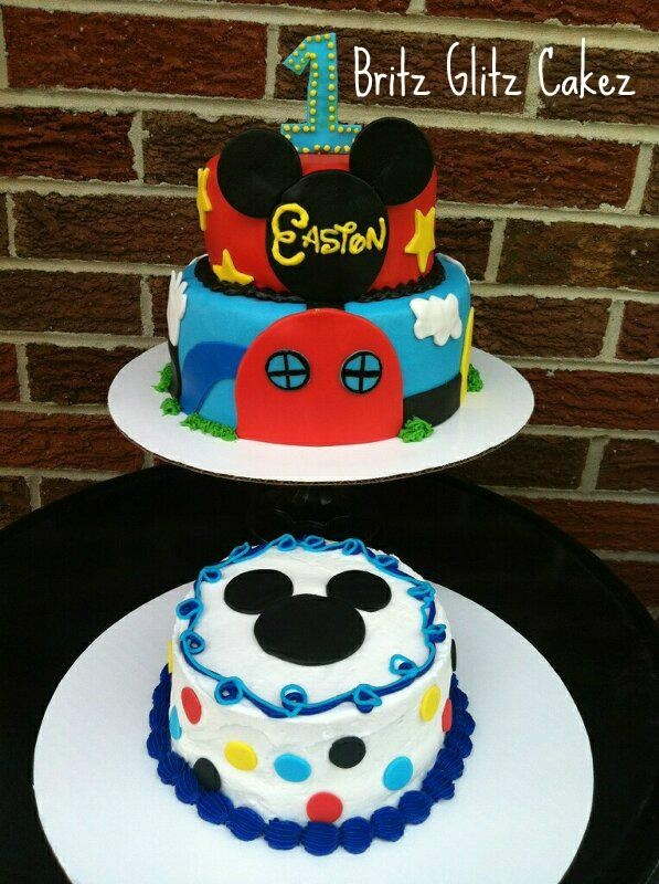 Mickey Mouse Clubhouse Birthday Cake Images