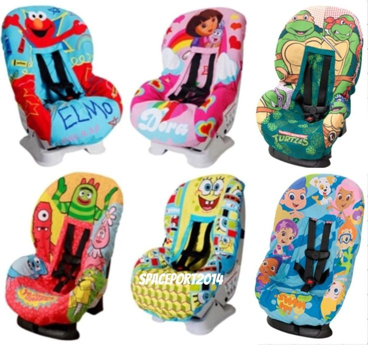 Childs CAR SEAT COVER Replacement Waterproof Seat Boys / Girls Toddler Kids  Set