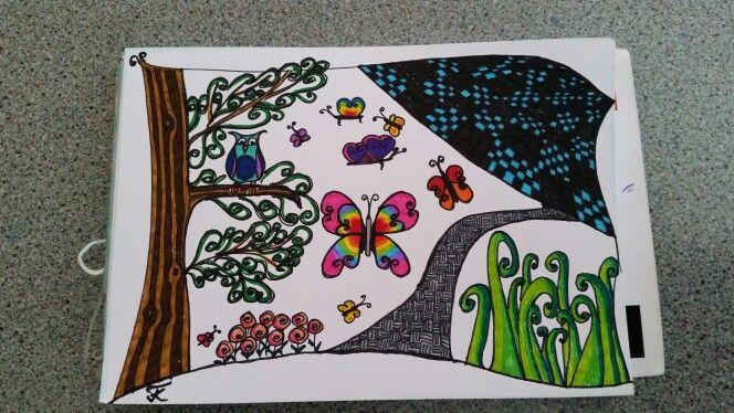 Schmetterlinge, gemalt, mein Foto, meine Arbeit tk