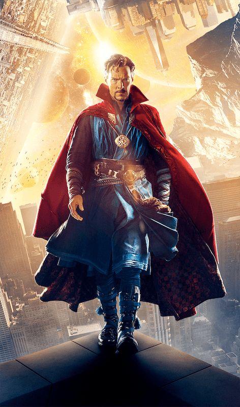 Most Powerful MCU Superhero Doctor Strange Benedict Cumberbatch