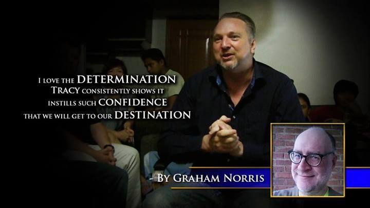 I love the determination, Tracy consistently shows it instills such confidence that we will get our destination. -Graham Norris. #60SecondMillionaireTV #RevMediaUSA #MediaTeam @tracy_davison #tracy_davison #TracyDavison