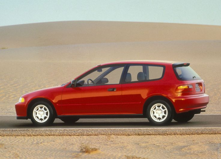 1992 Honda Civic Hatchback #OverBoost
