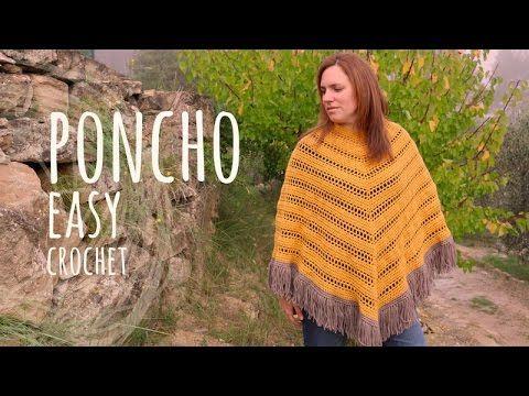 576 best Crochet Poncho images on Pinterest | Accessoirs, Häkeljacke ...