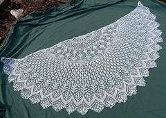This pattern was originally released as a knit-along from January to March 2009. Vernal Equinox Shawl Surprise KAL group was created at Ravelry for the knit-along. There is also a group called Celebrate spring for this shawl.